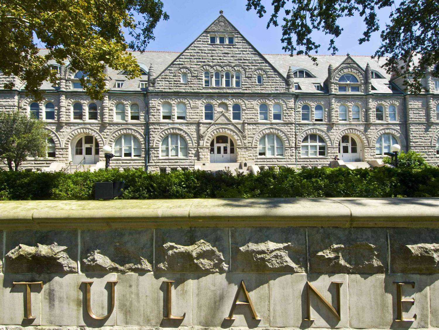 Tulane Gibson Online >> Tulane University Beautiful College South Best Colleges Online
