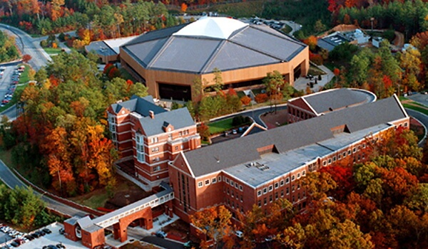 30 most beautiful college campuses in the south best for Uni psychologie nc