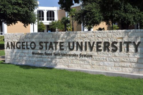 Angelo State University master's in education