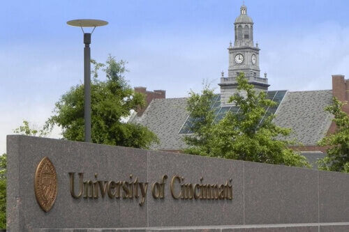 University of Cincinnati - 30 Most Affordable Online Graduate Sports Administration Degree