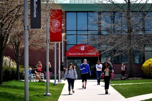 Sacred Heart University – 50 Most Affordable RN to MSN Online Programs