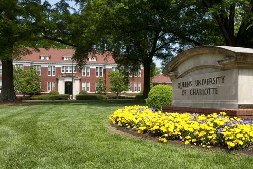 Queens University of Charlotte – Top 50 Most Affordable Online Master's in Healthcare Administration