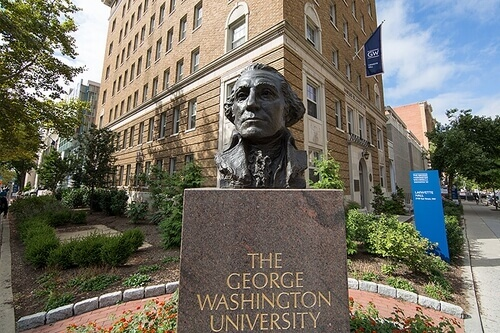George Washington University Top 30 Most Affordable Online Law