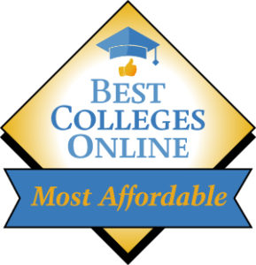 Best College Online - Most Affordable Badge